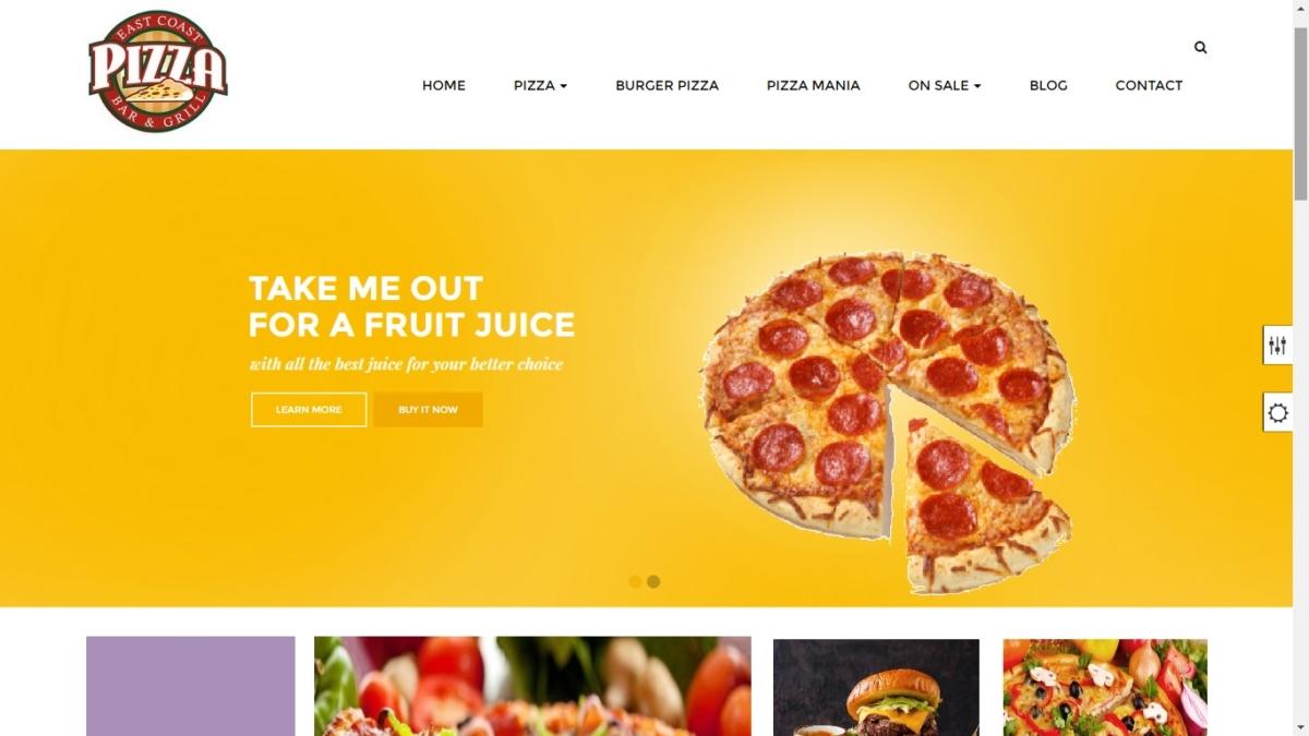 pizza ordering system Prestashop