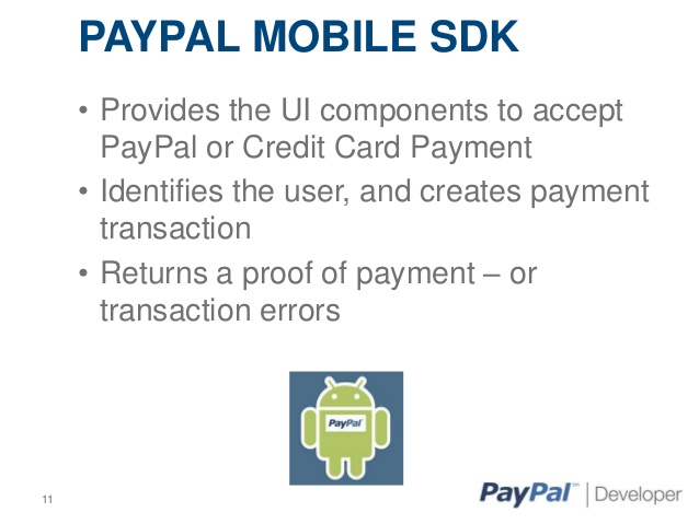 Create Client Id For Paypal Mobile Payments  | Spectra Solutions