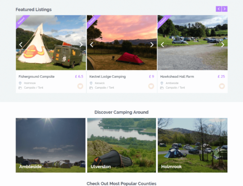 Campit.io – Airbnb of camping in UK