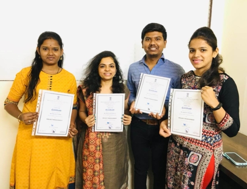 Sspectra Team – PMP Refresher Training 2019