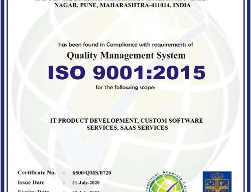 Spectra Solutions is ISO 9001:2015 Certified