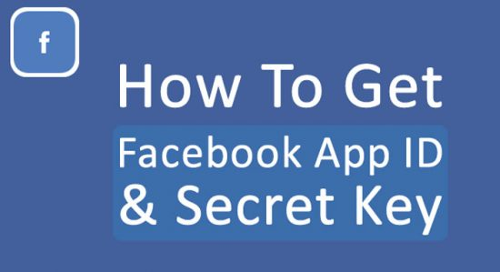 Facebook-App-ID-And-Secret-Key